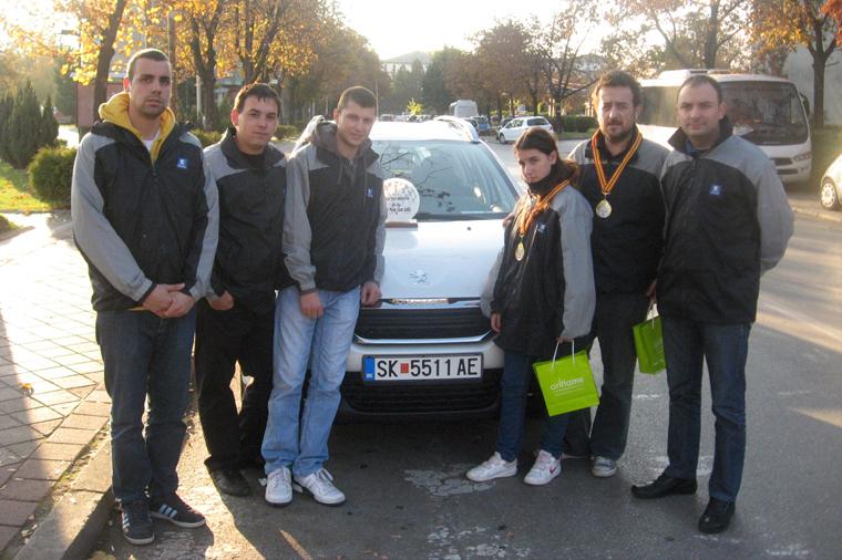 Peugeot тимот со 208 S-line, прво-пласиран на Авто Релито за оваа година