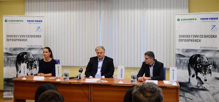 Euroimpex генерален застапник за Toyo Tires во Македонија