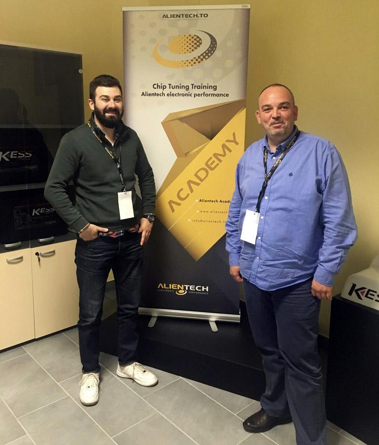 Еуроимпекс со Професионален тјунинг на обука во Трино, Италија во организација на Alientech