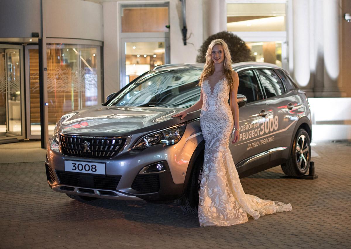 Peugeot 2008 и Peugeot 3008 на Bridal Fashion Night