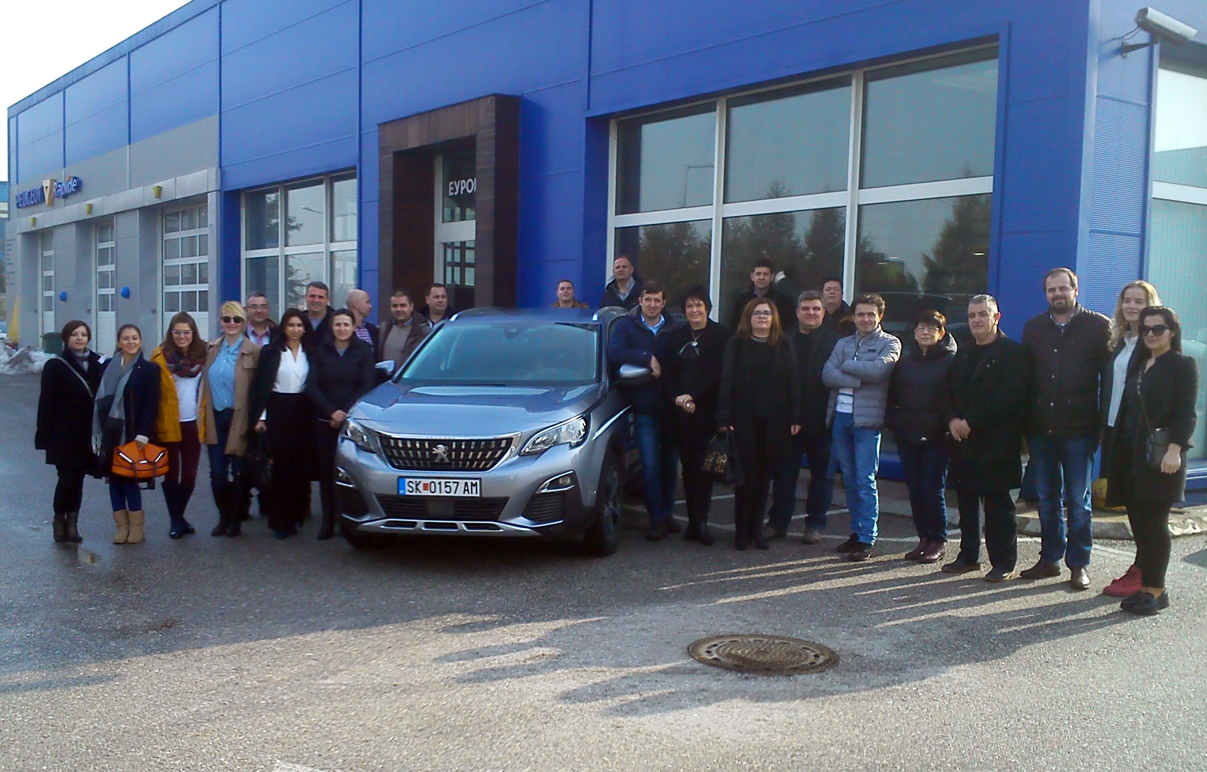 REGIONAL TRAINING FOR THE NEW SUV PEUGEOT 3008