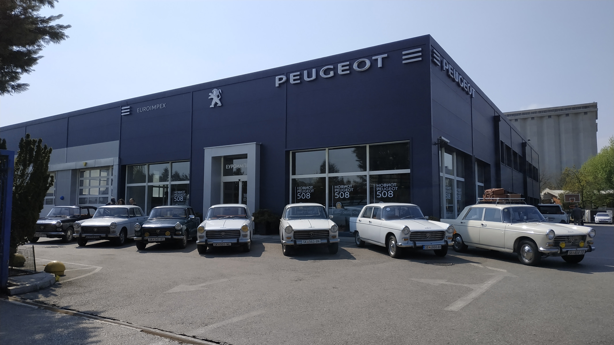"Back to the history ""DAY OF PEUGEOT 404"""