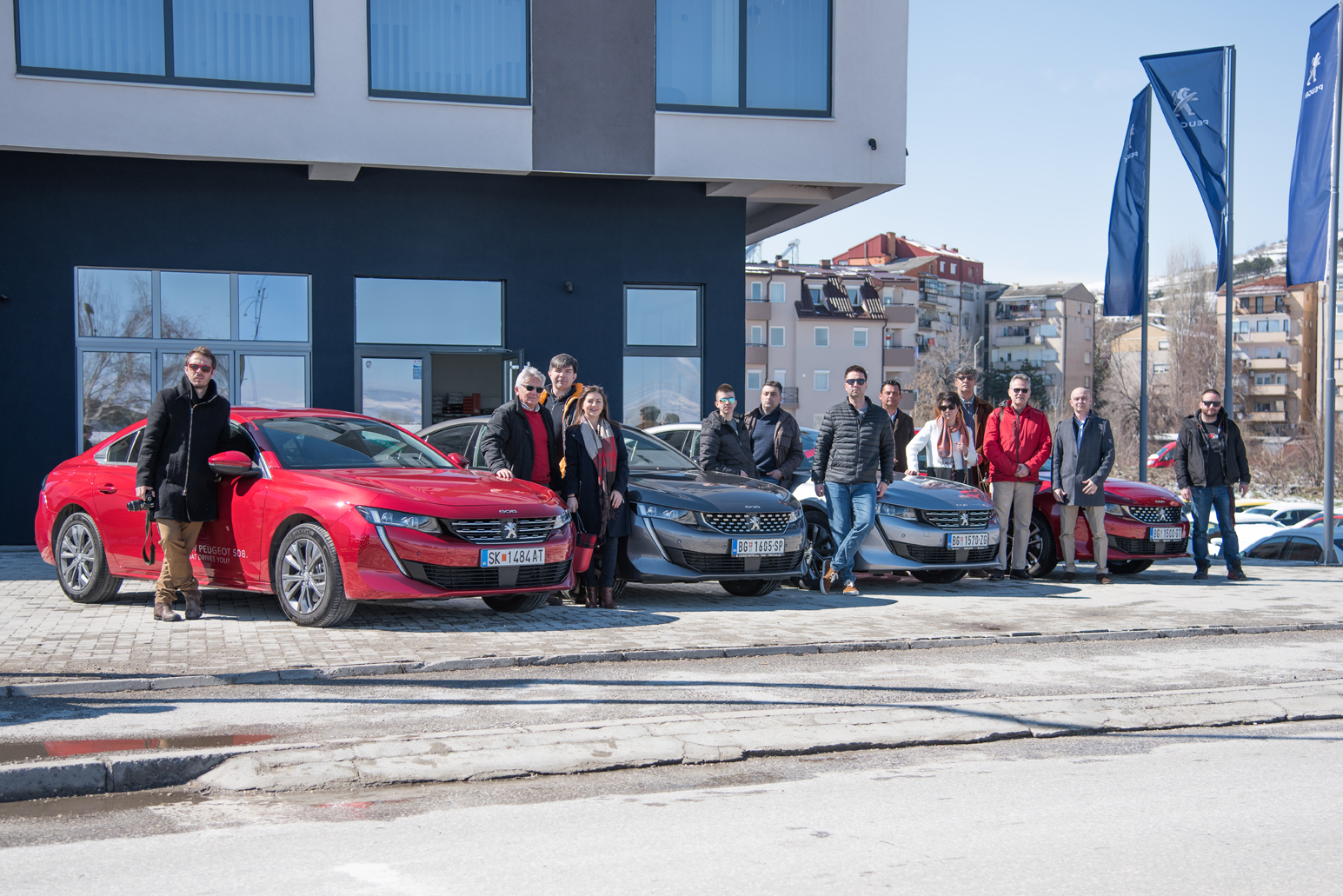 Test drive with the NEW PEUGEOT 508
