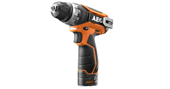 12V Compact drill / driver with 2 bateries 2,0 Ah Li-Ion