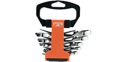 Set with ratchet combination stubby spanner