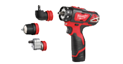 M12™ SUB COMPACT DRILL DRIVER WITH REMOVABLE CHUCK 12V/2,0